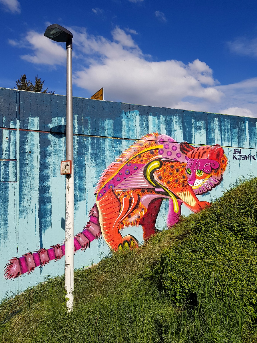 Street Art Chat Interview with Kosmik One - Why is street art important?