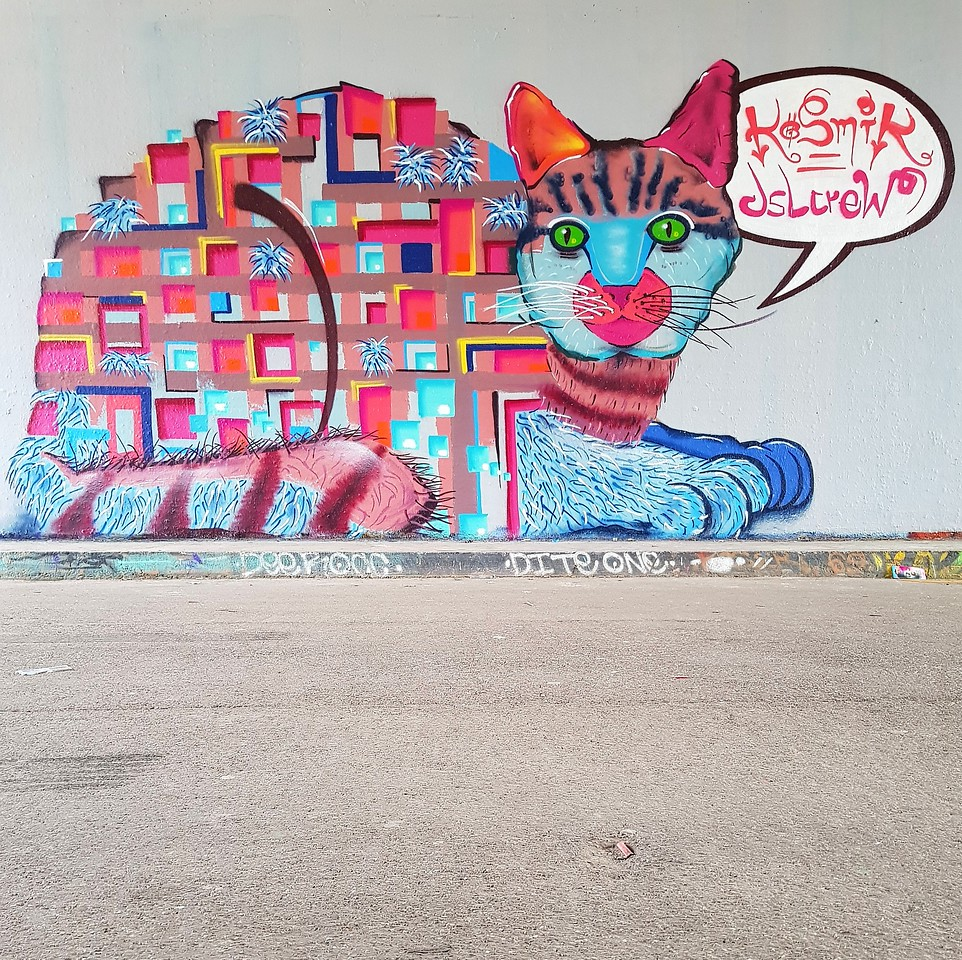 Street Art Chat Interview with Kosmik One
