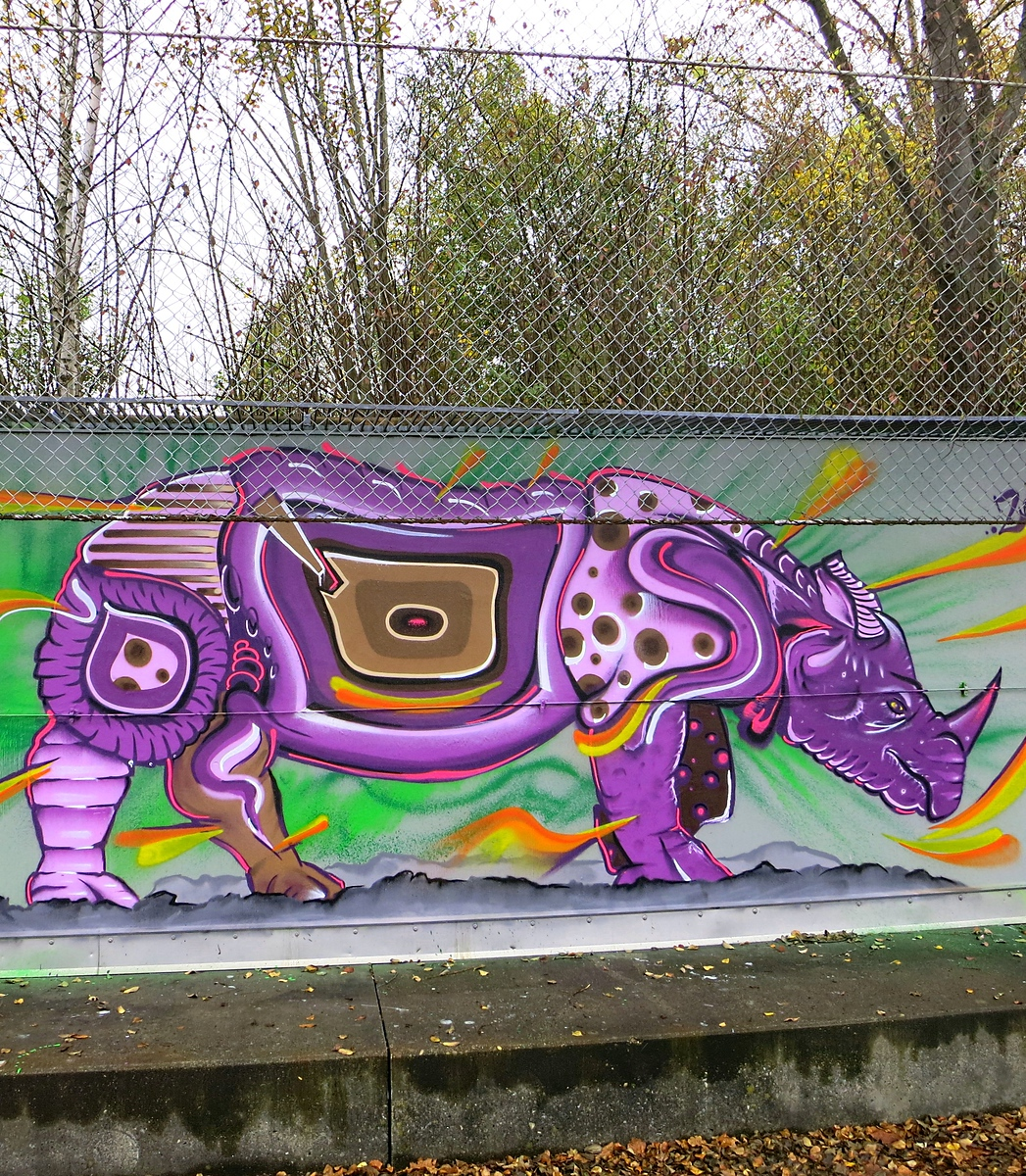Street Art Chat Interview with Kosmik One - Who is your favorite street artist and why