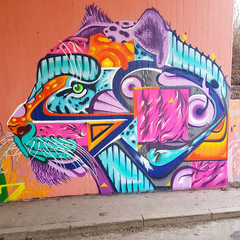 Street Art Chat Interview with Kosmik One - Where would you like to create art next?