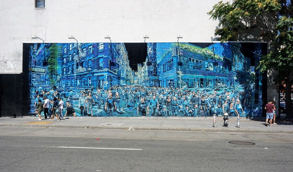 Mural by Logan Hicks from September 2016