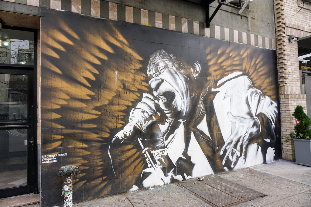 street art Mural by Joe Miller from December 2017