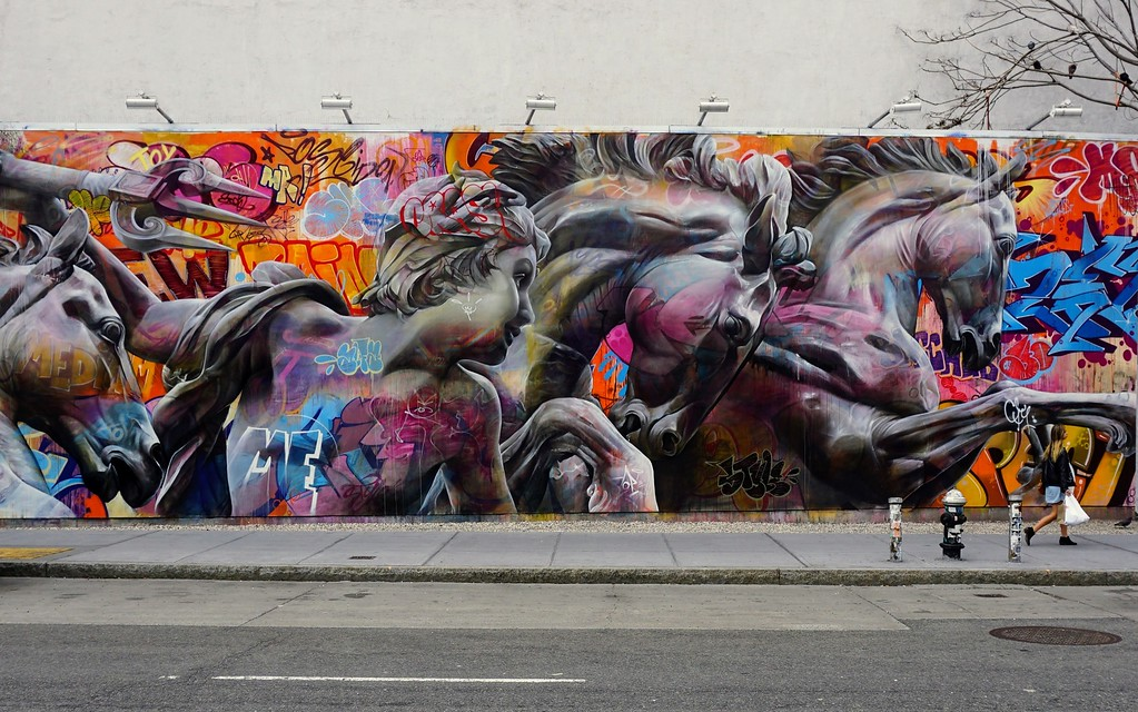 Mural by PichiAvo from April 2017