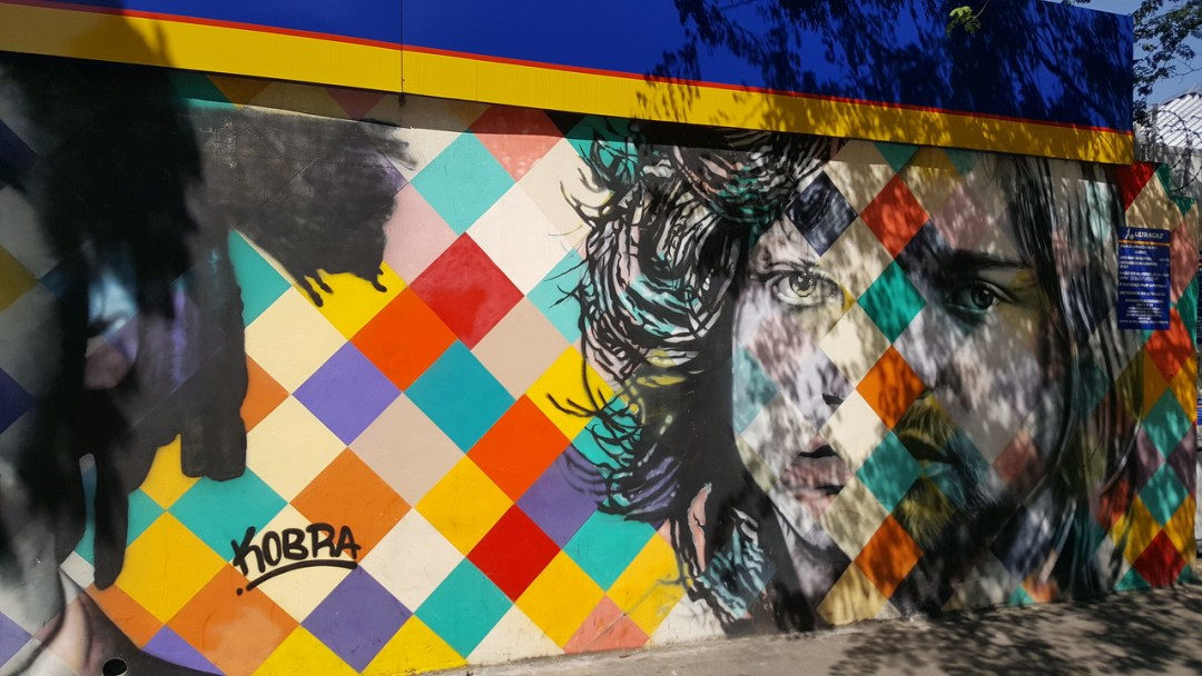 Mural of music icons