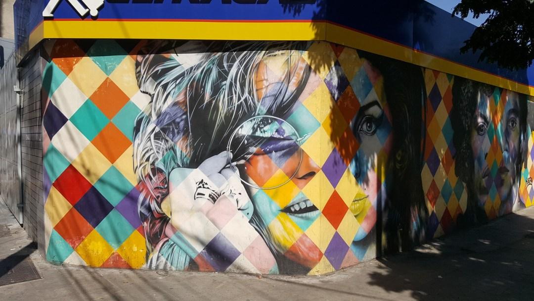 Janis Joplin mural in Sao Paulo