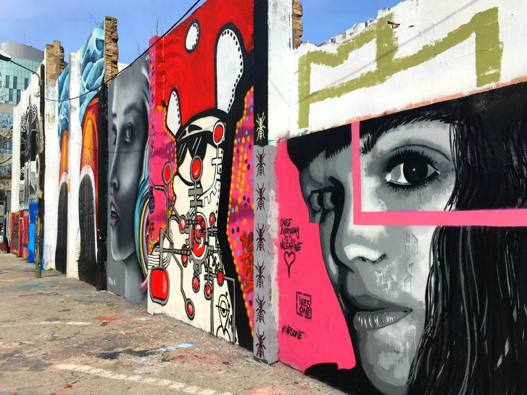 Wall of art - Street Art of Barcelona - StreetArtChat.com
