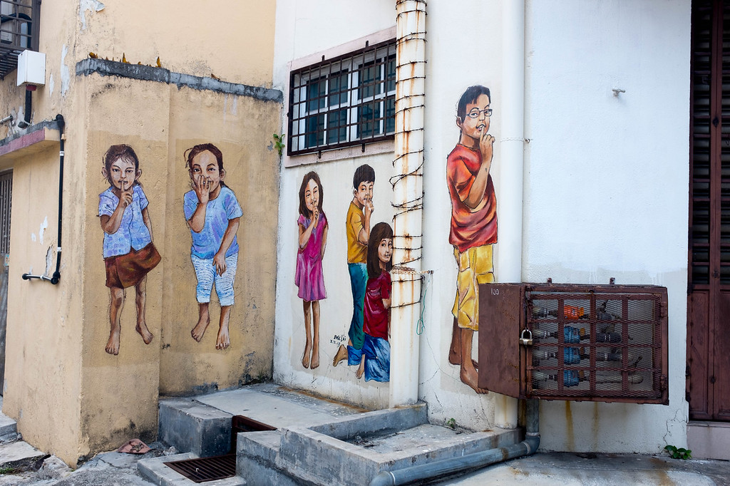 Eric Lai - Hide and Seek street art