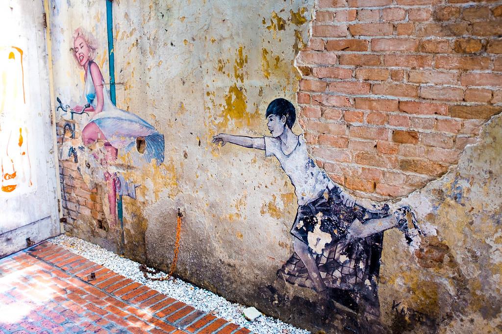 KAREEM - Marilyn Monroe Street Art