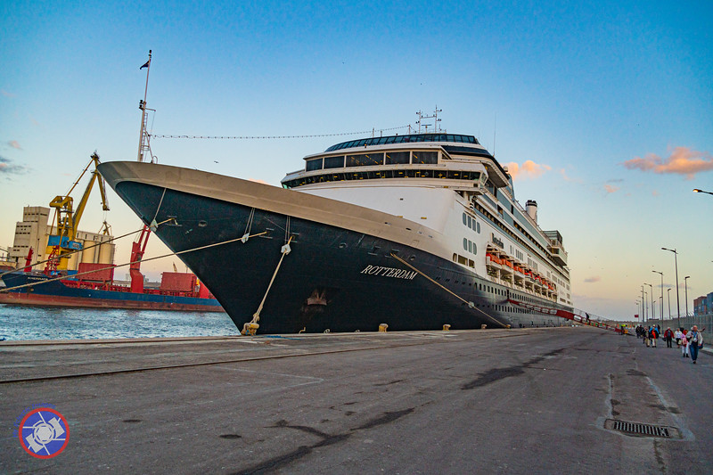 The Holland America Cruise Ship m/s Rotterdam in Casablanca, Morocco (©simon@myeclecticimages.com)