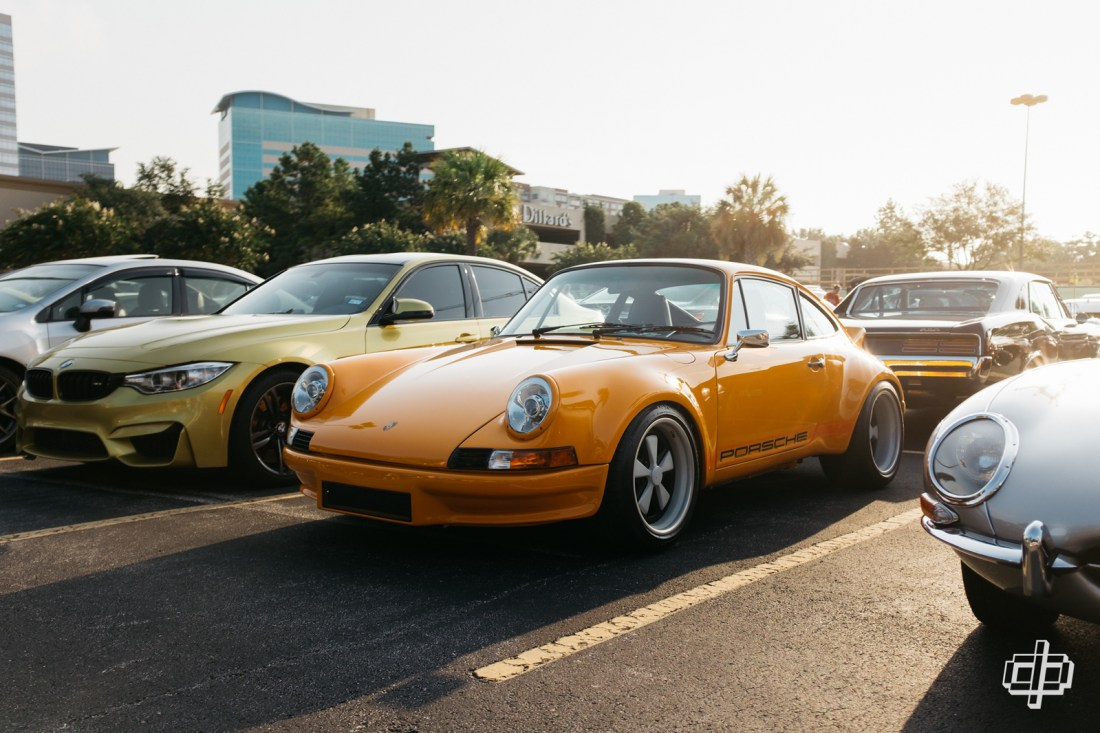 houston coffee and cars porsche 911 rsr