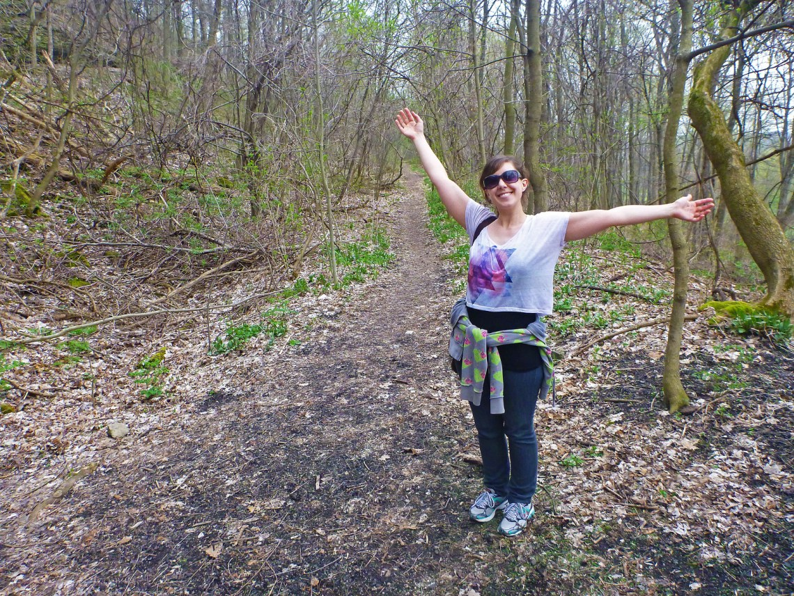 Bruce Trail Hike #1 - Queenston, Ontario