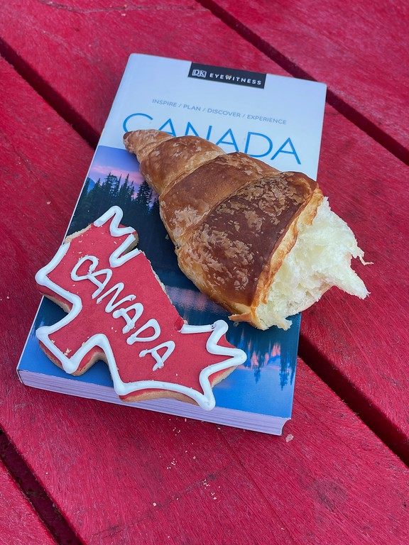 Croissant and Obama cookies at Le Moulin de Provence - Where to Eat in Quebec