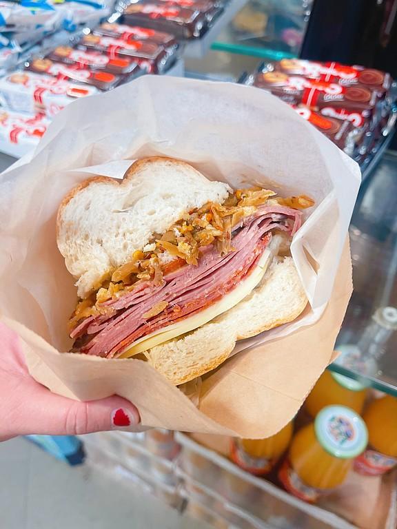Sandwich at La Bottega Nicastro - Where to Eat in Ottawa