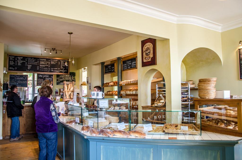 La Boulange bakery in Saint-Jean on Île d'Orléans