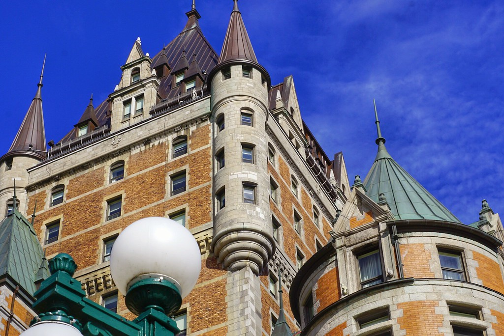 Château Frontenac in Old Quebec City