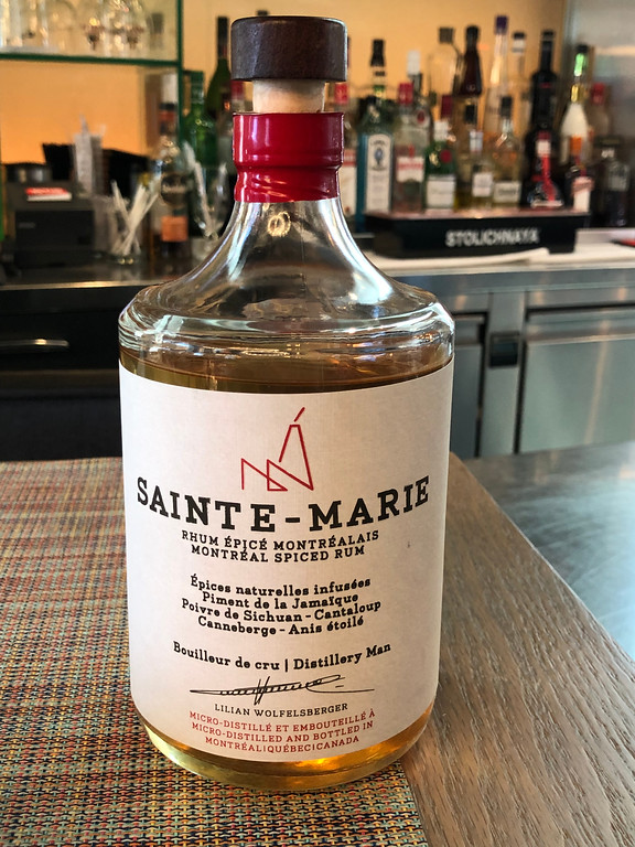 Saint-Marie rum from Montreal, Quebec