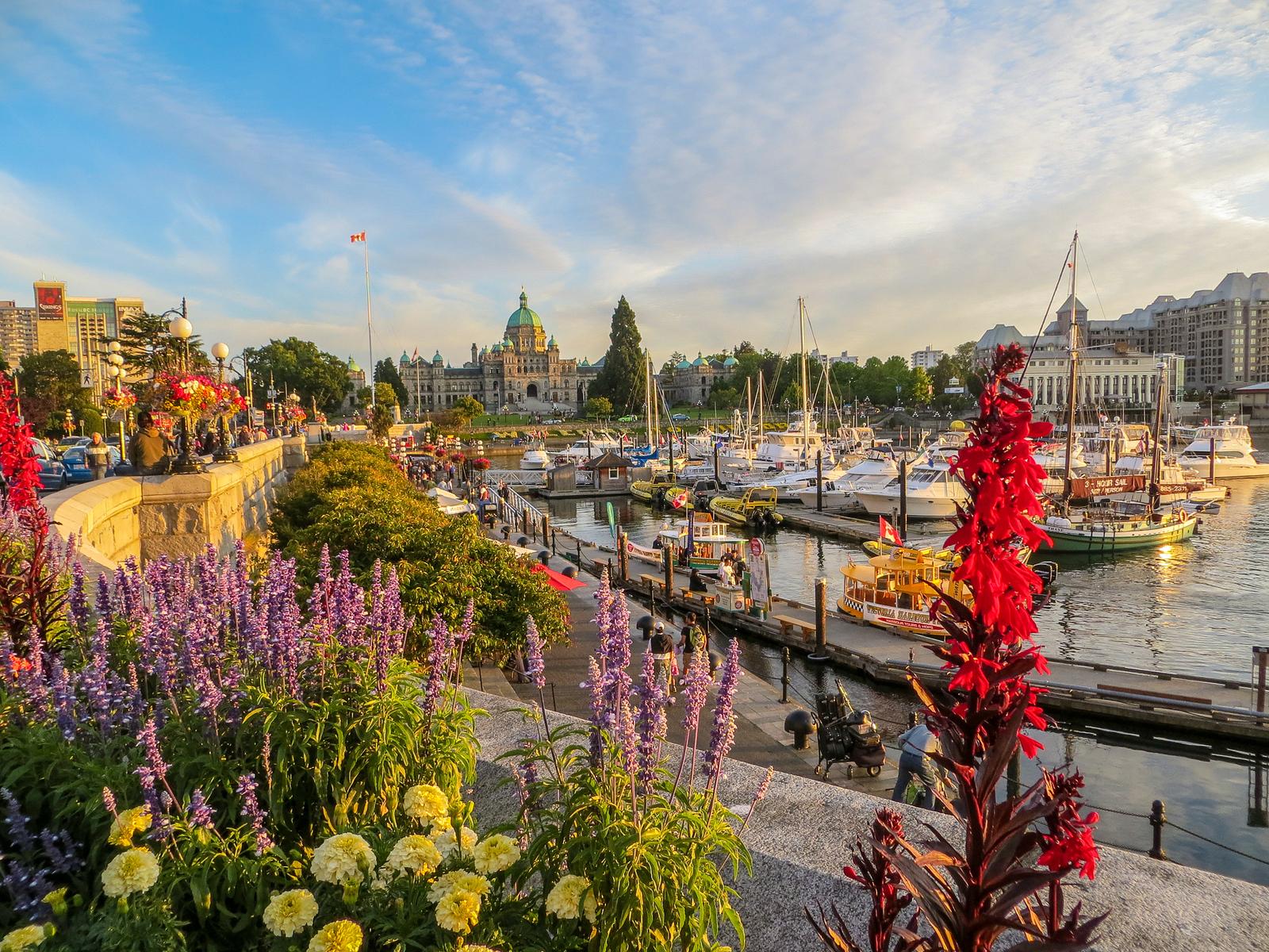Solo Travel Vancouver Idea: Take a day trip to Victoria