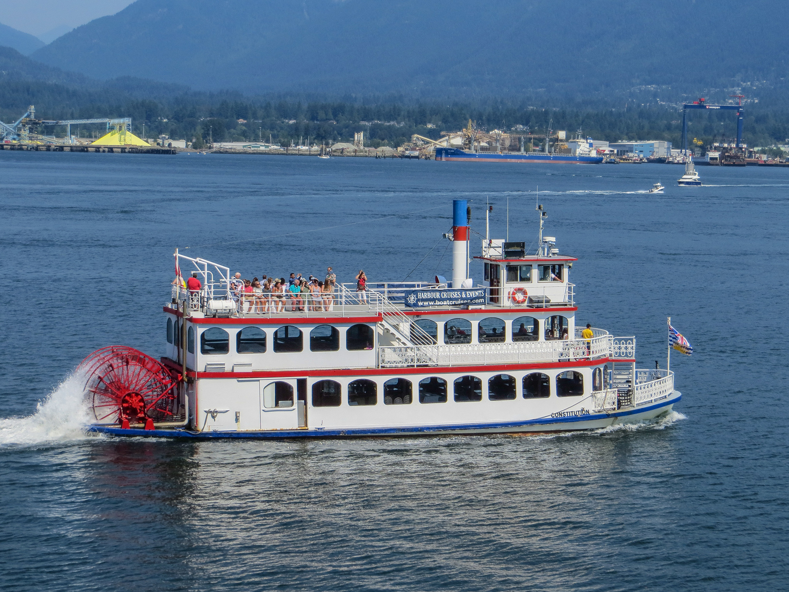 solo vancouver? go on a cool boat ride