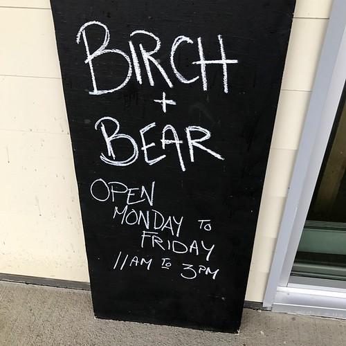 Birch and Bear, Whitehorse Yukon