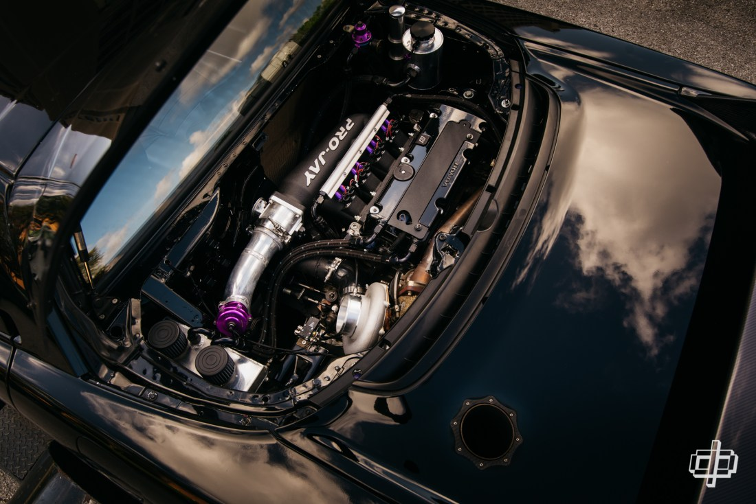 engine bay k series na1 nsx super street