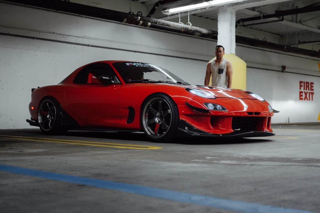 Clay barnett FD RX-7 super street feature