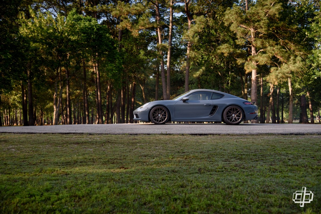Porsche 718 Cayman HRE Flow Form FF01 Wheels