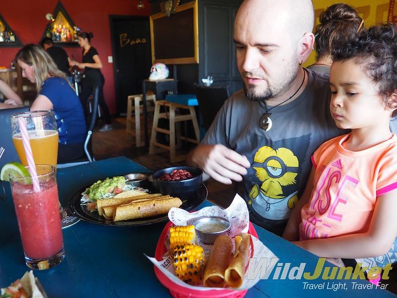 哥斯达黎加的度假俱乐部——墨西哥的食物