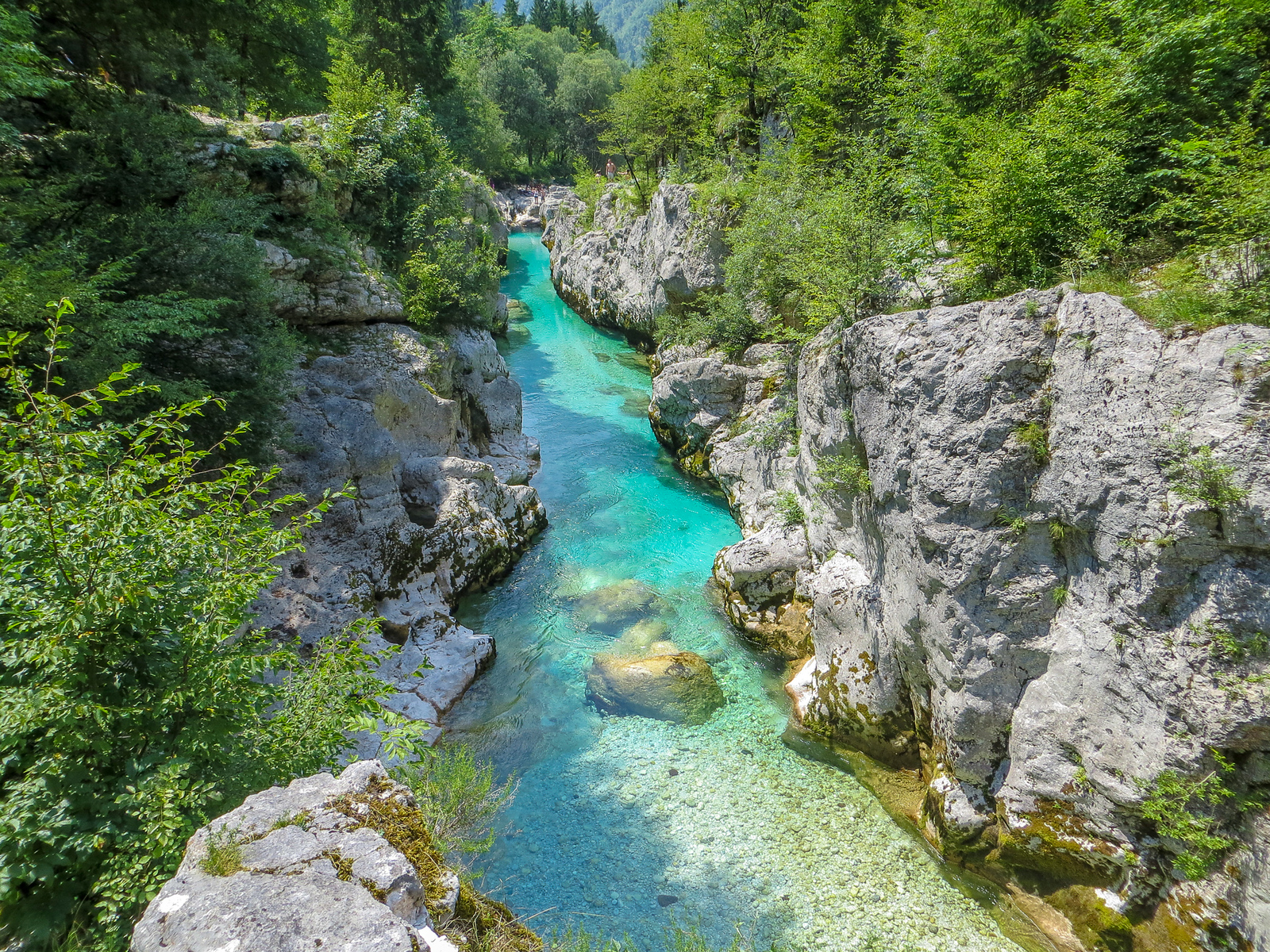 hiking the soca river valley is one of the best things to do at lake bled