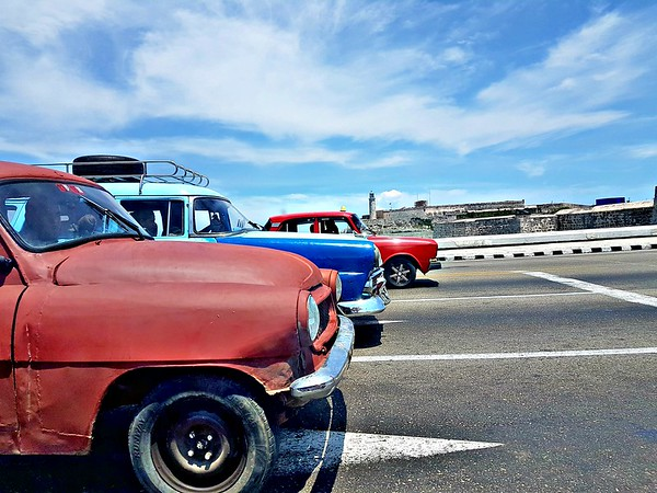 Trip to Cuba - Old Cars in Havana
