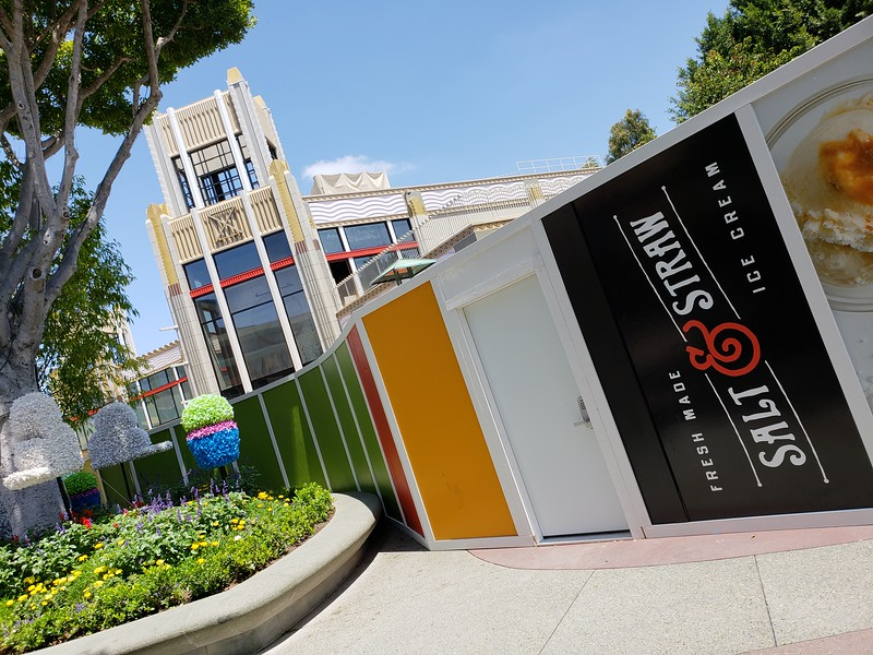 PICTORIAL: Construction walls around Disneyland allude to upcoming expansion, refurbishment