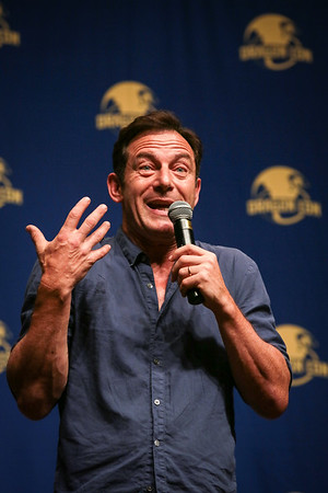 Jason Isaacs in the Wait Until My Father Hears About This! panel at DragonCon 2016