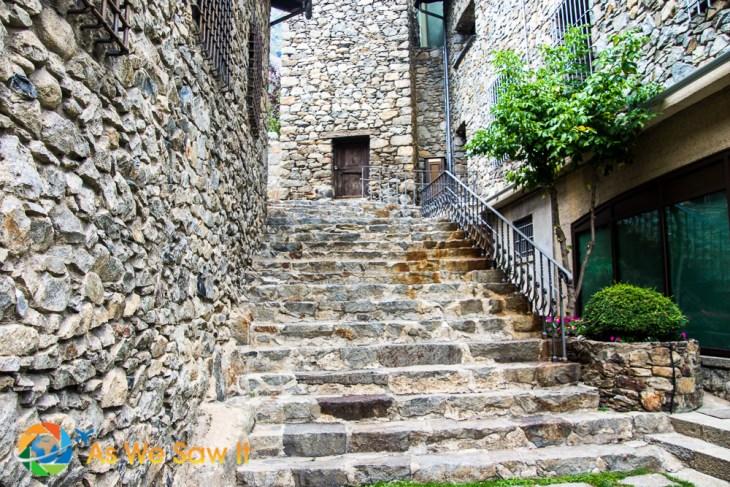 Beautiful stone works in Andorra la Vella