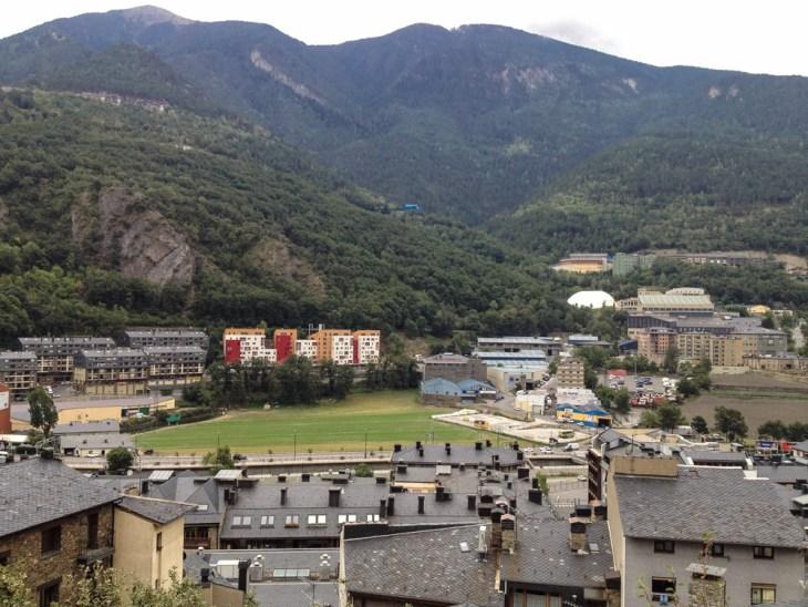 Andorra la Vella towards France