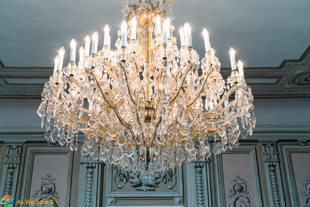 Chandelier in Litomysl Castle