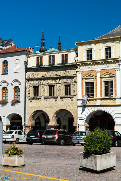 House of the Two Knights, Smetana Square, Litomysl