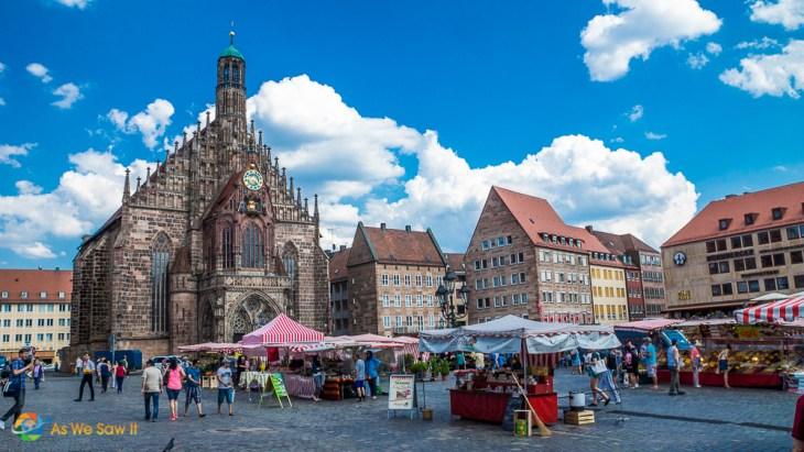 Nuremberg's Marktplatz market square