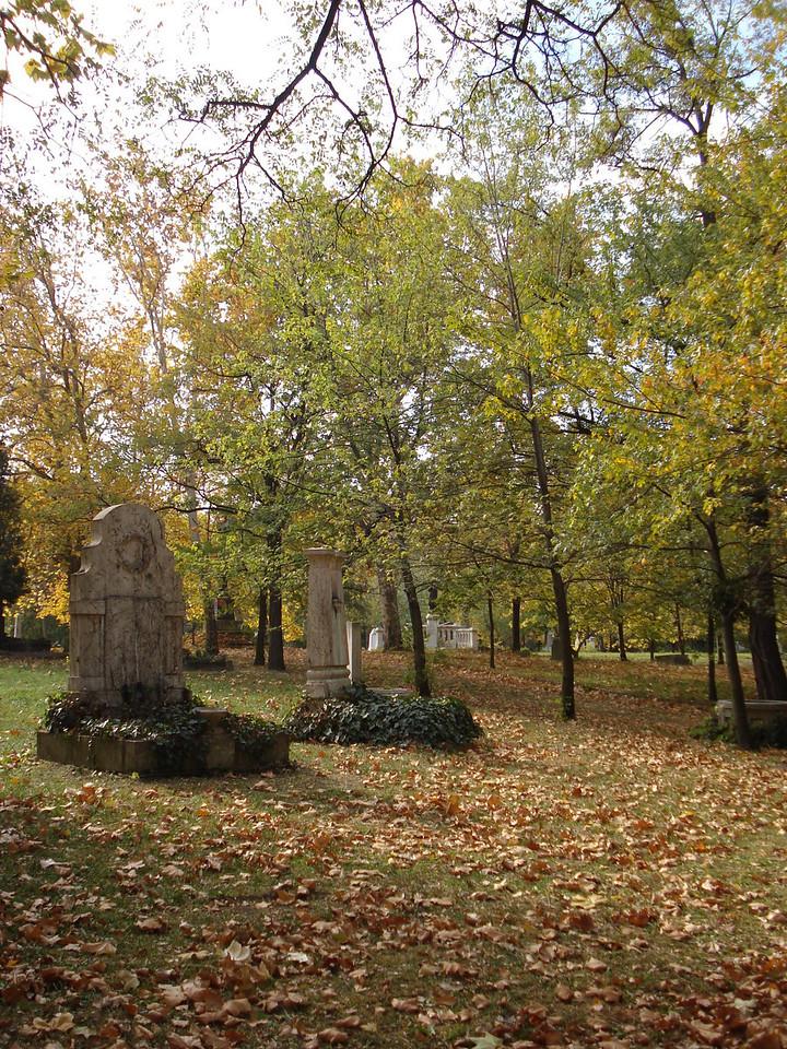 Kerepesi Cemetery Autumn