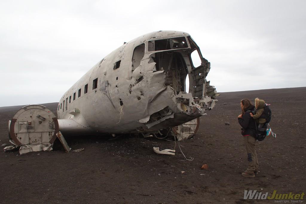 冰岛的飞机坠毁