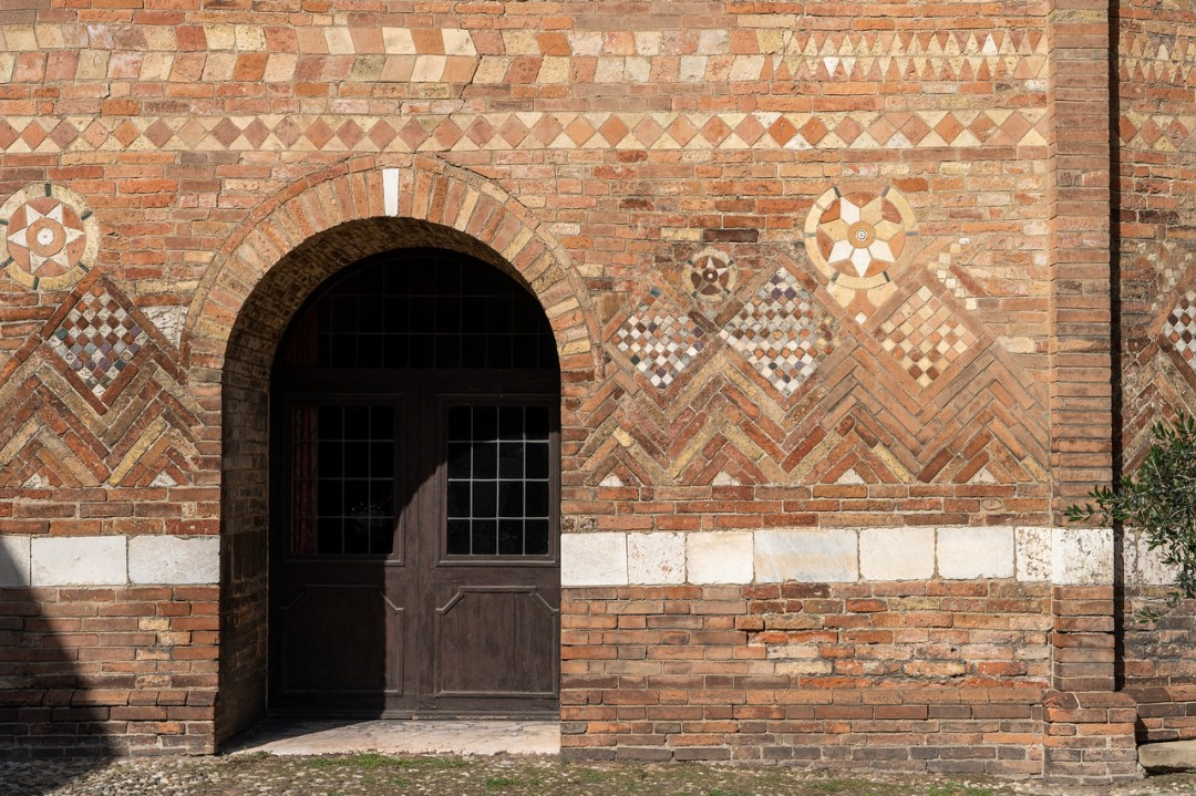 Beautiful stone work at Santo Stefano