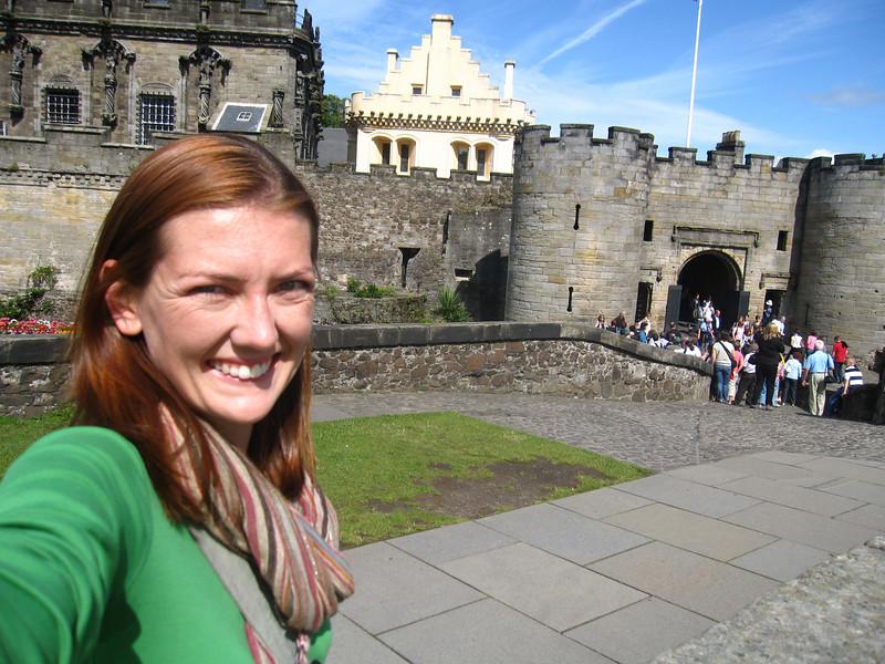 Selfie at Stirling Castle