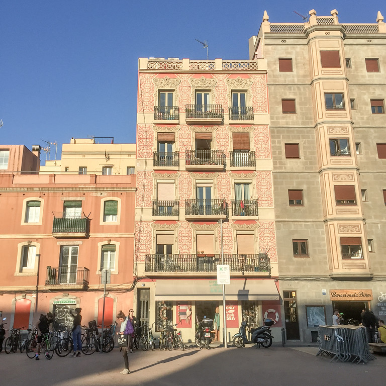 Barceloneta architecture