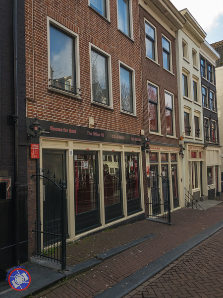 """The Red Light District of Amsterdam - Each Window Represents the """"Show Room"""" for a Legal Prostitute (©simon@myeclecticimages.com)"""