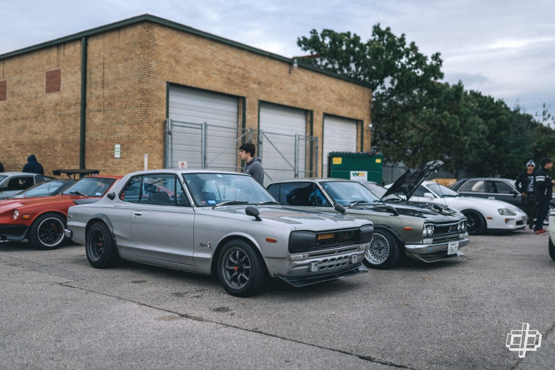 japanese nostalgic car meet 2018 hakosuka dtphan