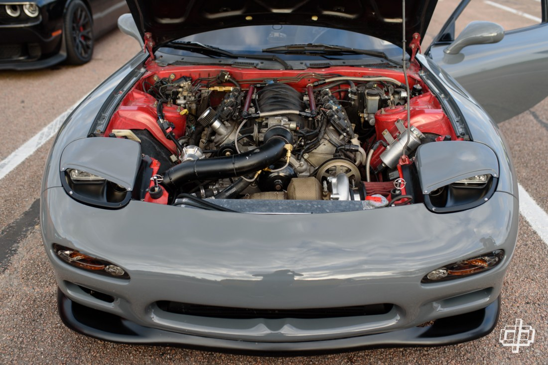 LS powered RX7 FD at TX2K17