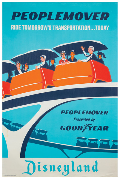 Peoplemover Attraction Poster