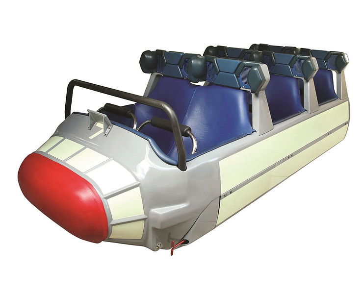 Space Mountain Attraction Vehicle