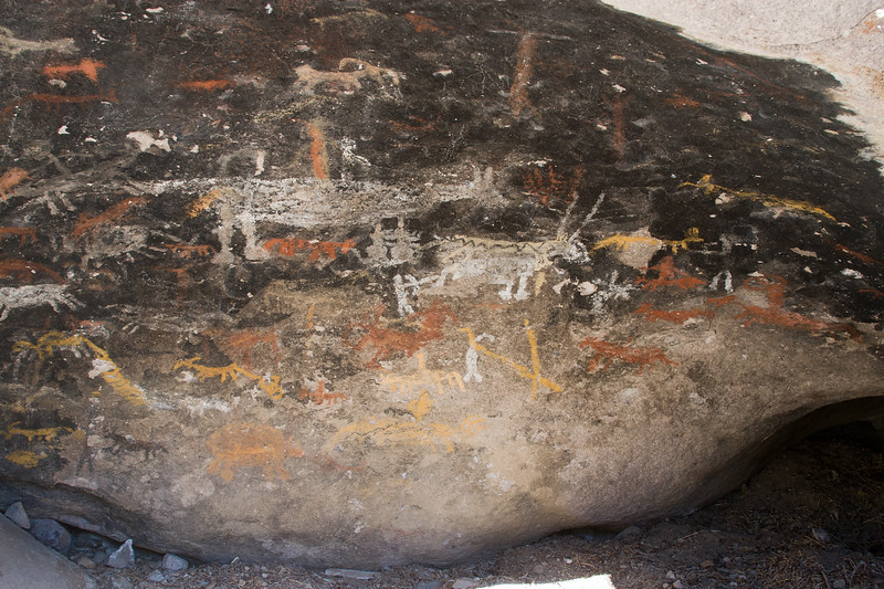 Panamint City Pictographs