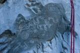 Zigzag Canyon Petroglyphs