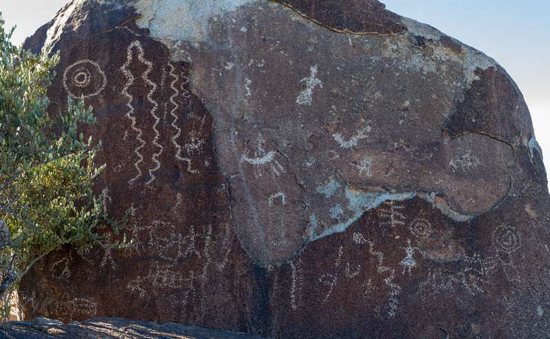 "Joshua Tree ""Cowboy"" Petroglyphs"