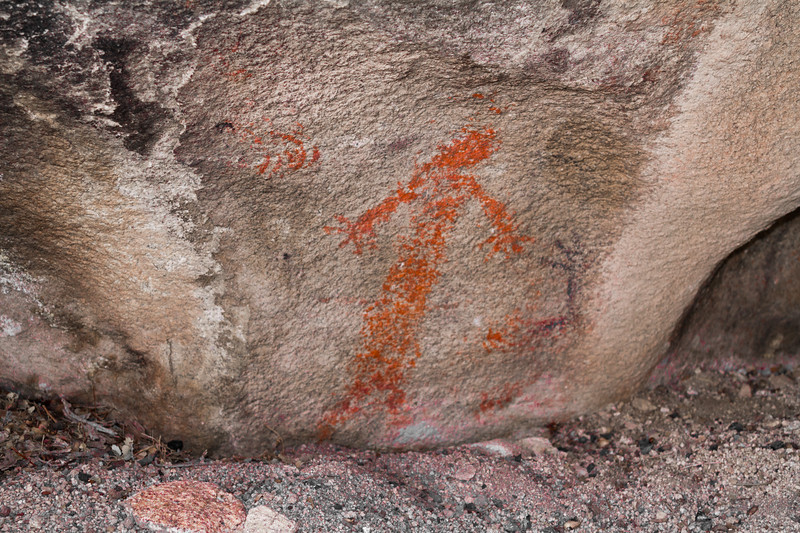 """Red Lady"" Pictographs"